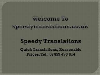 Translation Agency Edinburgh