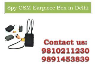 Spy GSM Earpiece Box in Delhi,9810211230