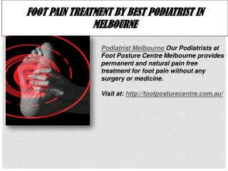 Podiatrist in Melbourne