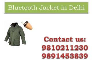Bluetooth Jacket in Delhi,9810211230