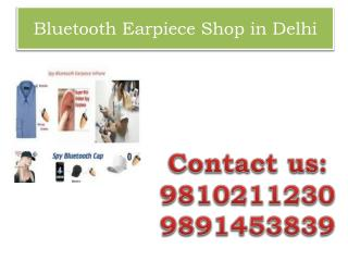 Bluetooth Earpiece Shop in Delhi,9810211230
