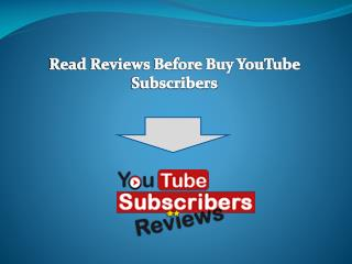 How to Purchase YouTube Subscribers Fast?