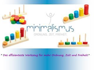 Minimalistisch leben – Schritt für Schritt ans Ziel