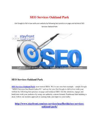 SEO Services Oakland Park