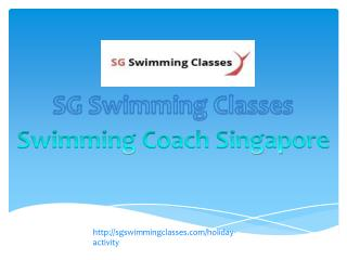 Sg swimming Classes- Adult Swimming classes