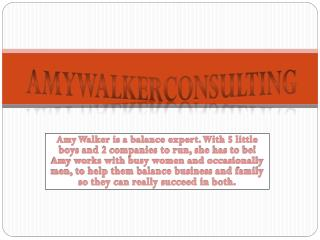 amy walker consultant