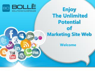Enjoy the unlimited potential of Marketing Site Web!
