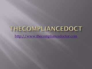 Thecompliancedoctor