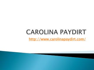 Carolina Paydirt