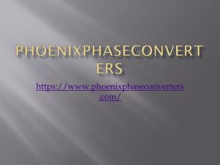Phoenix Phase Converter