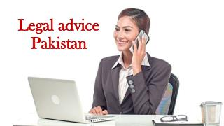 Legal advice Pakistan