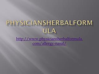 Physiciansherbalformula
