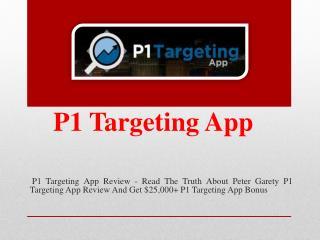 P1 Targeting App