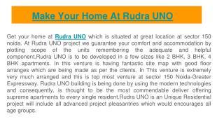 Presentation on Rudra UNO