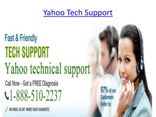 Yahoo technical support