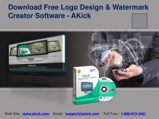 Download Free Logo Design & Watermark Creator Software - AKick
