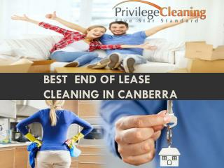 Best  end of lease cleaning in Canberra