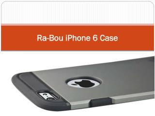 Ra-Bou iPhone 6 Case
