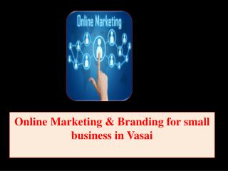 Online Marketing & Branding for small business in Vasai