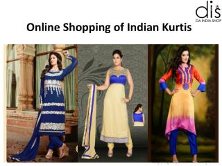 Online Shopping of Indian Kurtis