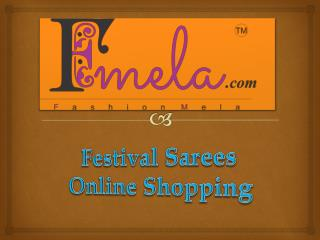 Festival Sarees Online Shopping