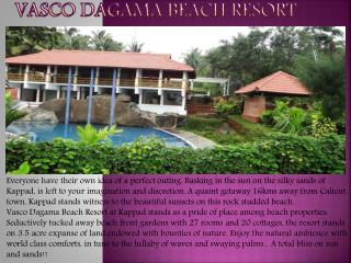 VASCO DAGAMA BEACH RESORT