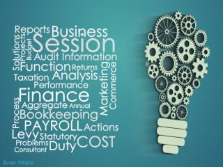 Business is Constitutive organization- Evan Vitale