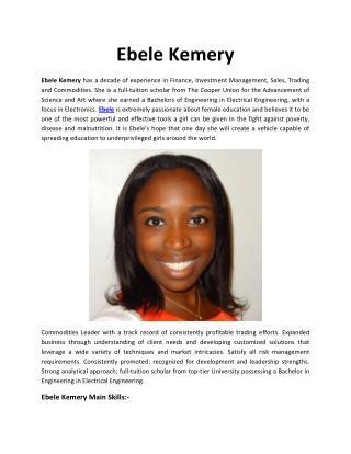 Ebele Kemery