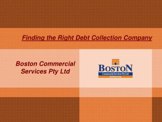 Finding the Right Debt Collection Company