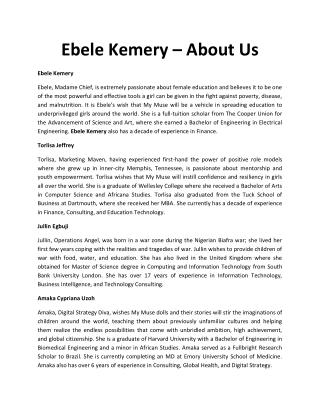 Ebele-Kemery