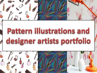 Pattern Illustrations And Designer Artists Portfolio