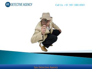 Detective Agency in Delhi :: Spy Detective Agency