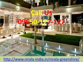 Nirala Greenshire Enjoy Your Dream Lifestyle