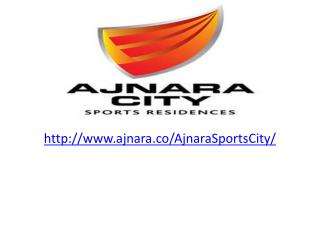 Ajanra Sports City 4 BHK villas