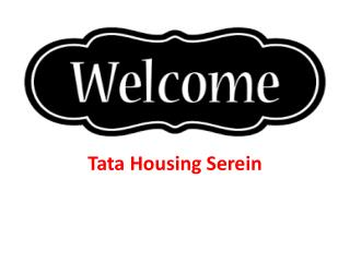 Tata Housing Serein Thane