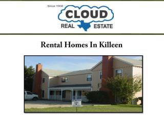 Rental Homes In Killeen