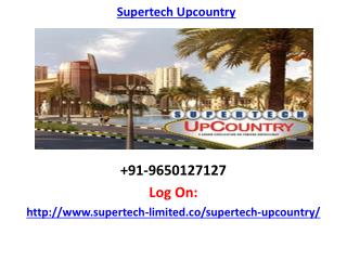 Supertech Upcountry Greater Noida Project