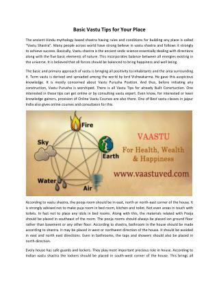 Best Vastu Shastra Classes in Jaipur India | Services