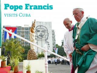 Pope visits Cuba