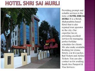Hotel Sai Sai Murli