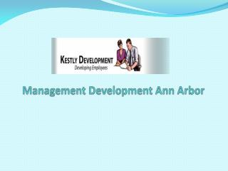Management Development Ann Arbor
