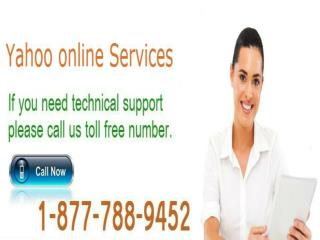 Yahoo Customer Service 1-877-788-9452 Toll Free