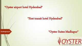 Hyderabad airport hotel