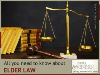Elder Law Attorney - All you need to know
