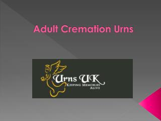 Adult Cremation Urns