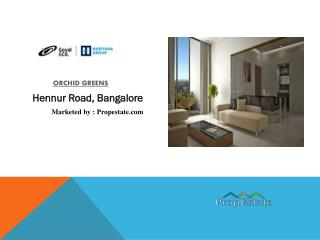 Orchid Greens | Goyal and co. Builder | Pre launch Bangalore