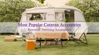 Most Popular Caravan Accessories