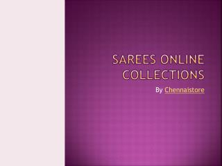 Sarees Online Collections