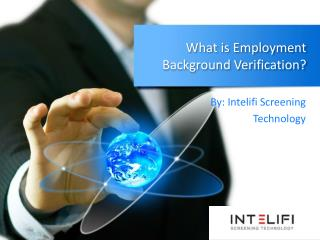 What is Employment Background Verification?