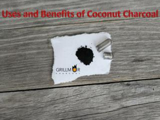 Uses and Benefits of Coconut Charcoal